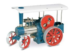 Wilesco Steam Traction Engine - Blue D405.Free UK delivery !  £239.00
